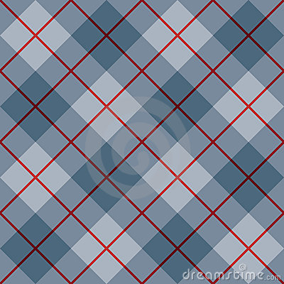 45 Degree Plaid Pattern_Blue-Red Stripe