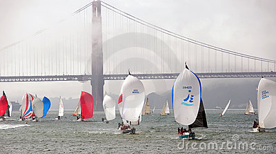 The 45th Rolex Big Boat Series, yacht racing. Editorial Photography