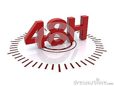 48 hour clock