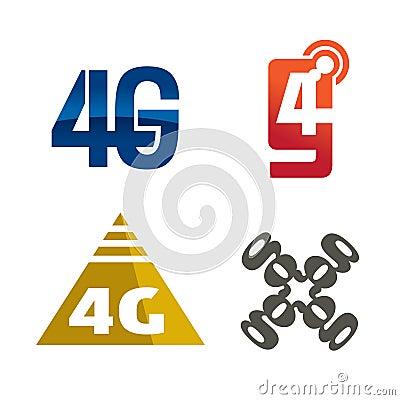 4g logo icon