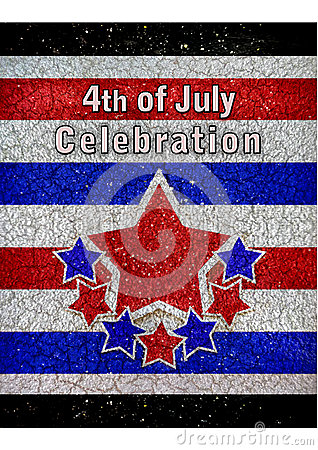 4th of July Celebration Design