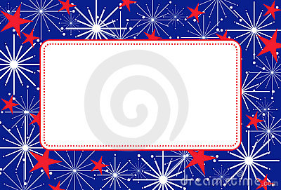 Happy Fourth Of July >> 4th Of July Frame Stock Images - Image: 12419924