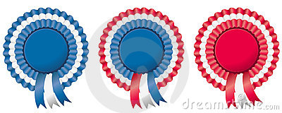 4th of july independence day rosette