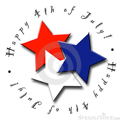 Free 4th Of July Stars Royalty Free Stock Photography - 2367557
