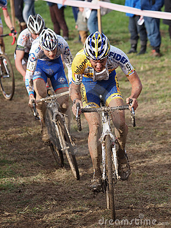 4th round of the 2011-2012 Cyclocross World Cup Editorial Stock Photo