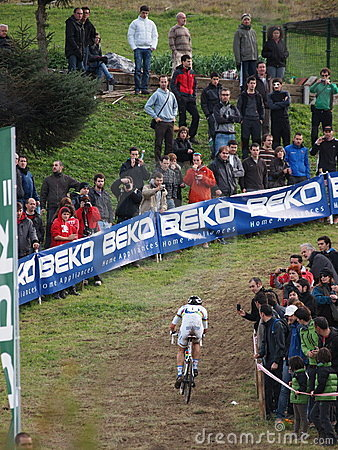4th round of the 2011-2012 Cyclocross World Cup Editorial Photo