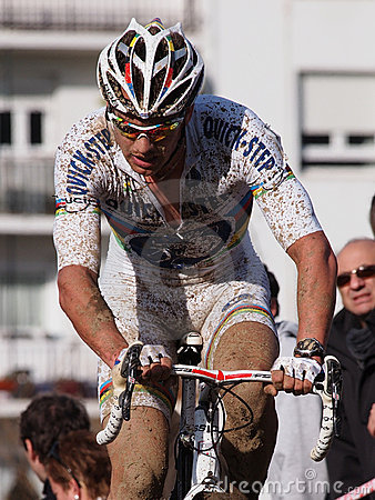 4th round of the 2011-2012 Cyclocross World Cup Editorial Image