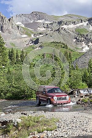 4WD Rocky Mountains Colorado