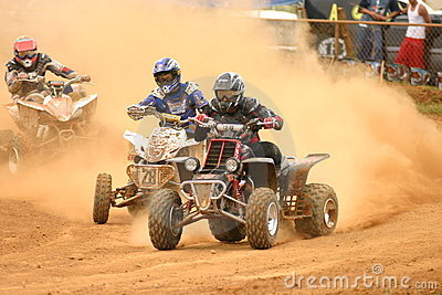 4wheel dirt riders in Puerto Rico Editorial Photo
