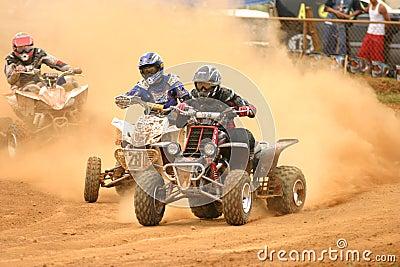 4wheel dirt riders in Puerto Rico Editorial Photo