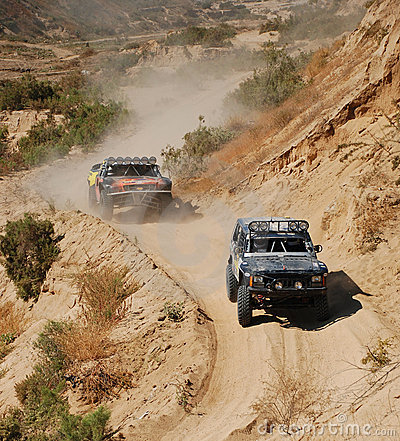 Free 4x4 Off Road Truck Race Stock Photos - 7773223