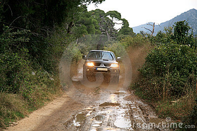 4x4 off-roading in Croatia.