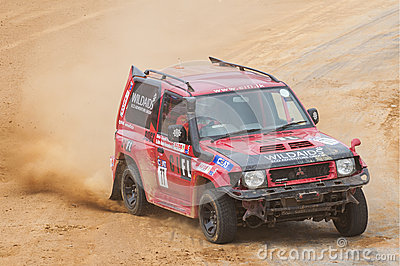 4X4 racing Editorial Stock Photo