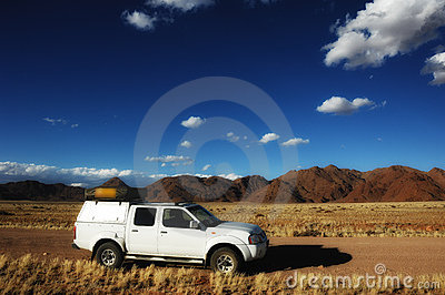 4x4 Vehicle in Namibia