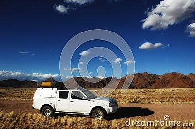 4x4 Vehicle in Namibia