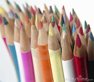 5 χρωματισμένα μολύβια