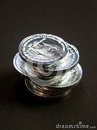 5 монеток