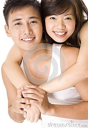 5对亚洲夫妇