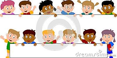 5个横幅孩子