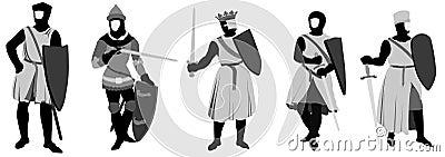 5 chevaliers