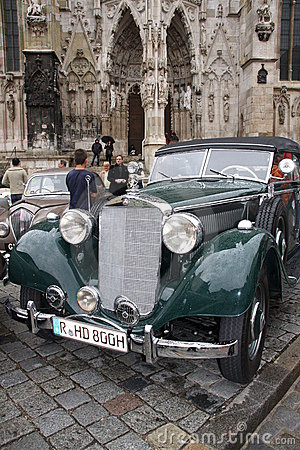 5. Classic Rally in Regensburg Editorial Stock Photo