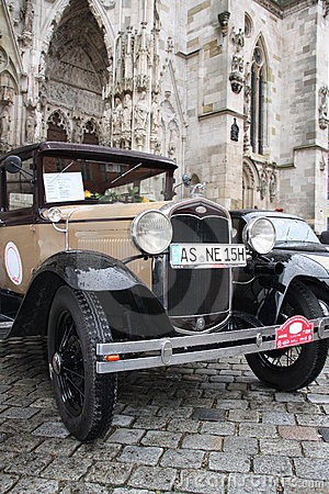 5. Classic Rally in Regensburg Editorial Image