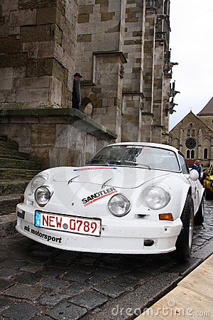 5. Classic Rally in Regensburg Editorial Photo