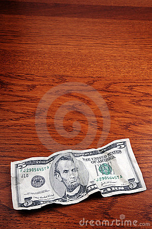 5 dollar banknote