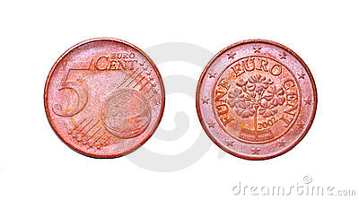 5 Euro cent coil