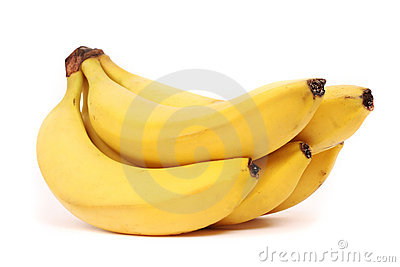 5 five bananas