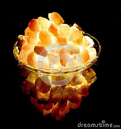 5 gleaming πέτρες