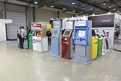 5 International vending exhibition 23-25 march 201 Editorial Stock Image