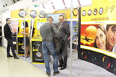 5 International vending exhibition 23-25 march 201 Editorial Stock Photo