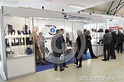 5 International vending exhibition 23-25 march 201 Editorial Stock Photo