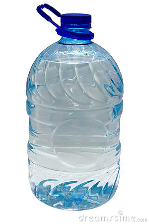 5 Liter Plastic Bottle Stock Image Image 8342471