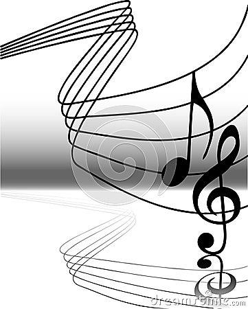 5 muzycznych notatek.