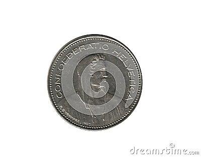 5 Swiss franc