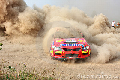 The 5-th stage of the championship of Ukraine  Editorial Photo