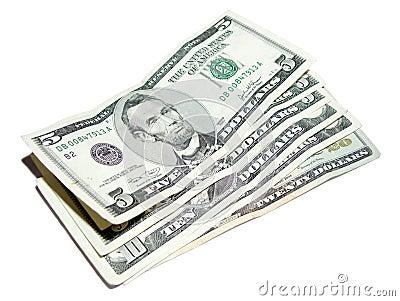5 US Dollars
