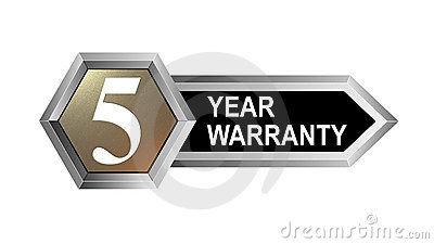 5 year warranty key