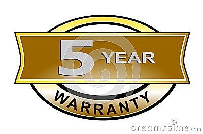 5 year warranty seal belt