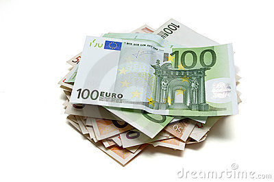 50 and 100 euros