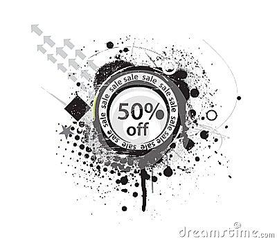 50  discount banner