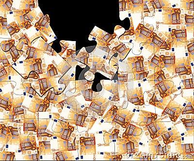 50 euro puzzle