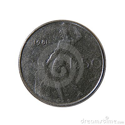 50 italienische Lire