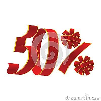 50 percent promotion