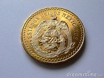 50 pesos gold angle