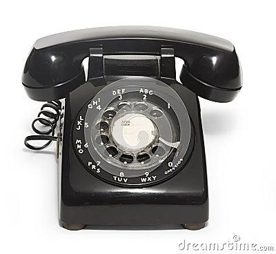 Free 50 S Telephone Royalty Free Stock Photo - 4618955
