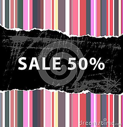 50  sale background