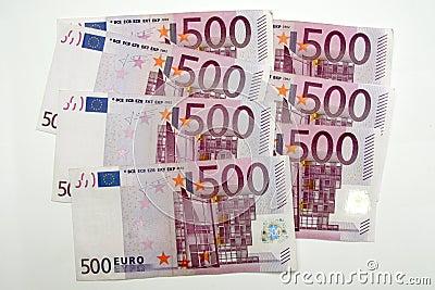 500 euros, five hundred